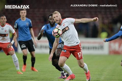 """Frăsinescu nu se teme de atacanţii lui Dinamo! """"Nemec e o stâncă, dar trebuie să ne folosim mintea pentru a-l bloca!"""""""