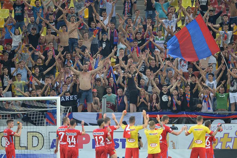 FOTO ŞOCANT Gazonul de pe Naţional Arena, DISTRUS de caniculă. Cum arăta terenul înainte de FCSB - Astra