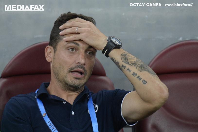 """Rădoi l-a taxat pe Călinţaru pentru felul în care a bătut penalty-ul cu FCSB: """"Nu vreau să comentez mai mult de atât!"""""""