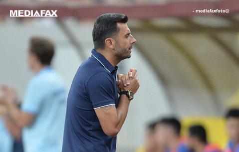 """Dică dă de pământ cu fotbaliştii lui: """"Nu meritam nici un egal. M-au dezamăgit, în felul ăsta nu putem bate pe nimeni!"""". Antrenorul FSCB îl scuză pe Artur Jorge"""