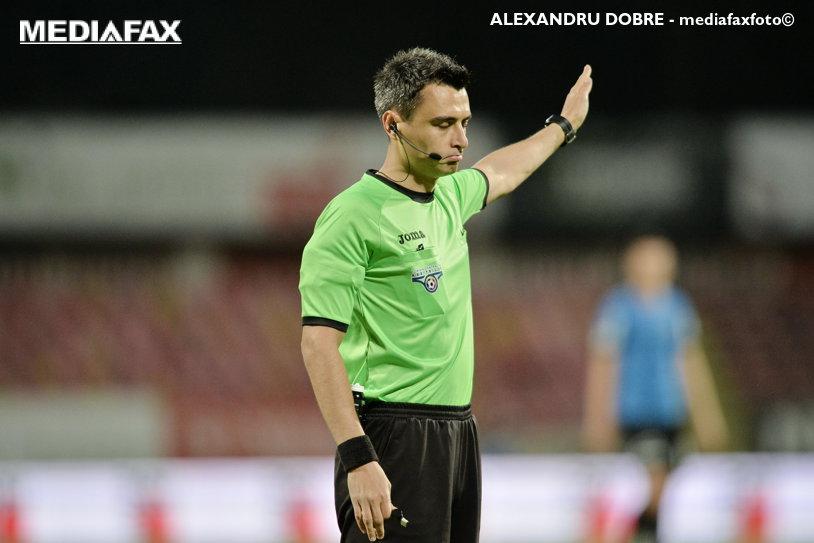 S-a decis arbitrul meciului Dinamo - Sepsi Sf. Gheorghe