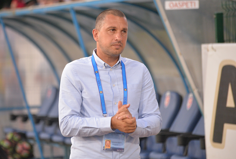 """Moldovenii nu şi-au ascultat antrenorul, iar Budescu i-a taxat! Costel Enache şi-a atenţionat elevii înainte de înfrângerea cu FCSB: """"Am vrut să evităm asta, dar nu am reuşit"""""""