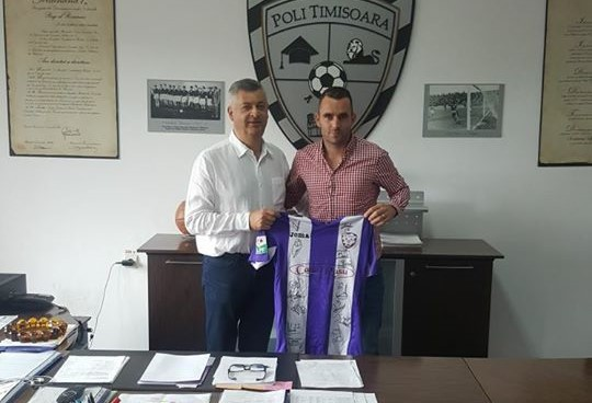 ACS Poli Timişoara şi-a găsit coordonator de joc! Bănăţenii au transferat un croat care a jucat ultima dată în Cipru