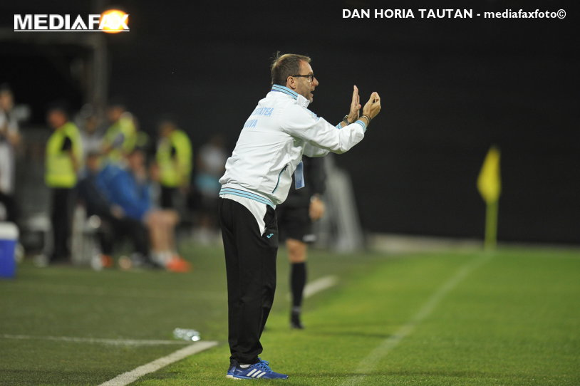 Devis Mangia a dezvăluit ce mesaj i-a transmis lui Adrian Comănescu în timpul meciului cu CFR