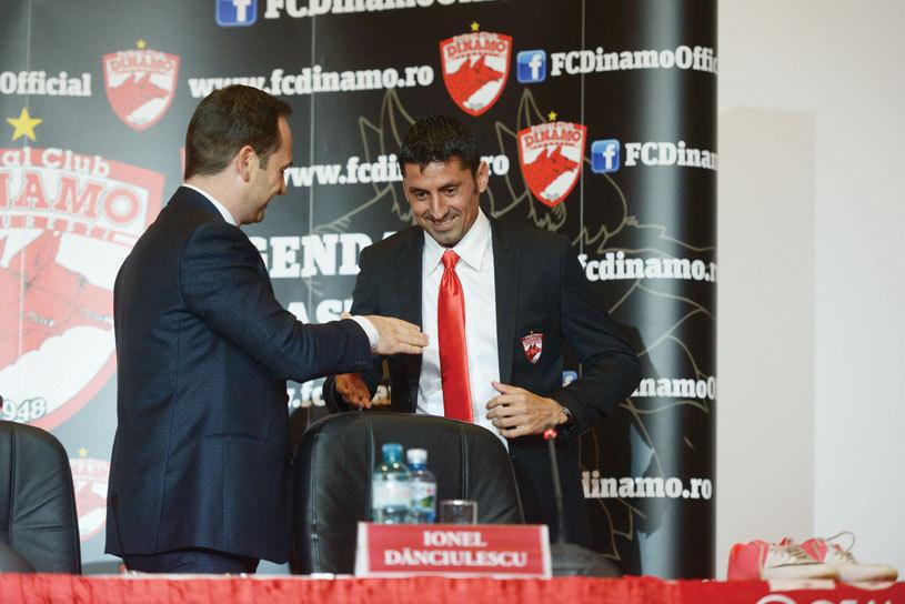 """Filip şi Hanca, luaţi în colimator de conducerea lui Dinamo. """"Cine va mai încerca să se dea cocoş în faţa fanilor va plăti drastic. Sper ca în ceasul al 12-lea să se trezească!"""""""