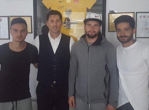 """Trei jucători importanţi ai Viitorului au semnat: """"Clubul le urează succes în continuare"""""""