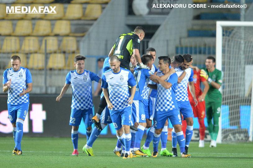 Juventus - FC Botoşani 0-2. Roman şi Buş aduc victoria formaţiei lui Costel Enache