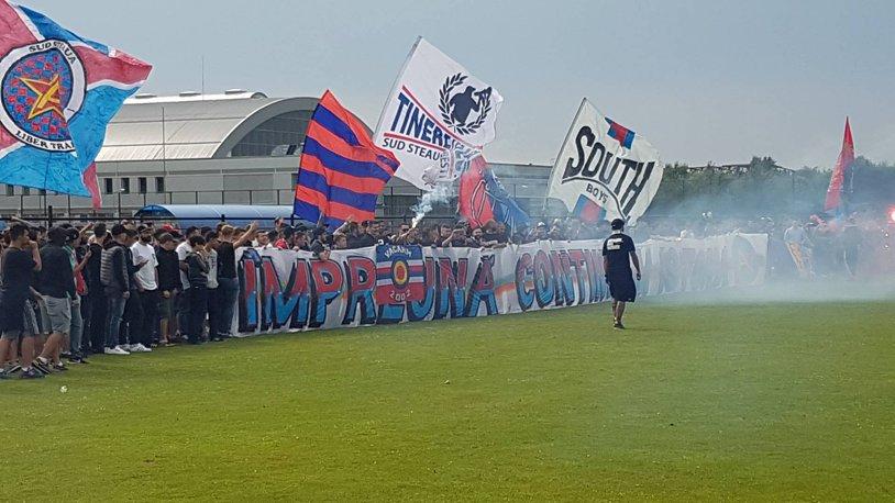 """Sprijin pentru Steaua. """"Ne dorim să avem în jurul nostru personalităţi care au adus glorie clubului!"""". Ce spune comandantul Petrea"""