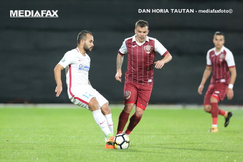 LIVE BLOG | CFR Cluj - FCSB 1-1. Fază superbă! Man a pasat decisiv, iar Budescu a înscris cu bara