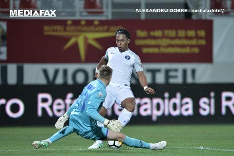 Viitorul - Juventus 3-0. Echipa lui Hagi urcă două locuri în clasament. Gol şi două assist-uri pentru Ganea