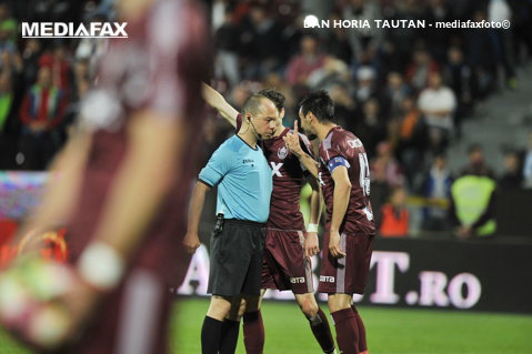 """Concluziile lui Camora după CFR - FCSB 1-1: """"Nu ştiu dacă a fost gol valabil la Vera, nu ştiu dacă a fost penalty la Benzar. Haţegan a făcut un meci bun"""""""