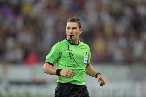 Istvan Kovacs va arbitra derby-ul FCSB - Dinamo