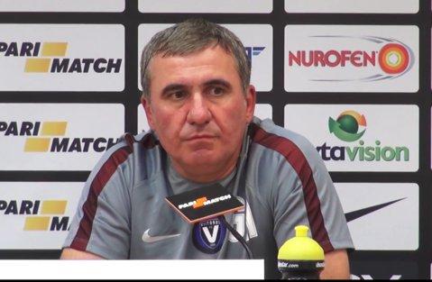 """Gică Hagi, reacţie surprinzătoare când a fost întrebat despre derby-ul FCSB - Dinamo. """"Regele"""" anunţă: """"Trebuie să rămânem în prima ligă!"""""""