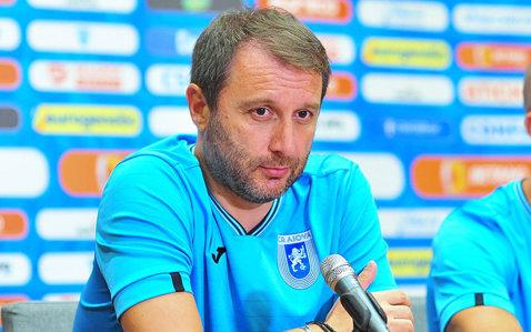 """Mangia e mulţumit şi nu prea: """"Ratăm prea mult, trebuia să închidem meciul mai repede"""". Ce spune despre tânărul Burlacu"""