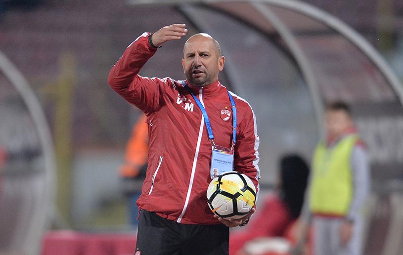 """Vasile Miriuţă, nicio victorie în trei meciuri la Dinamo: """"A fost o partidă bună, n-am ce să le reproşez băieţilor. Astra a egalat dintr-un fault inexistent"""""""