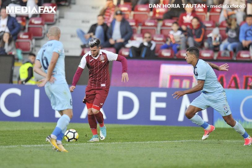 Lider cinic! CFR câştigă cu 2-0 meciul cu Juventus, fără să facă spectacol, dar păstrând cea mai mare medie de goluri pe meci