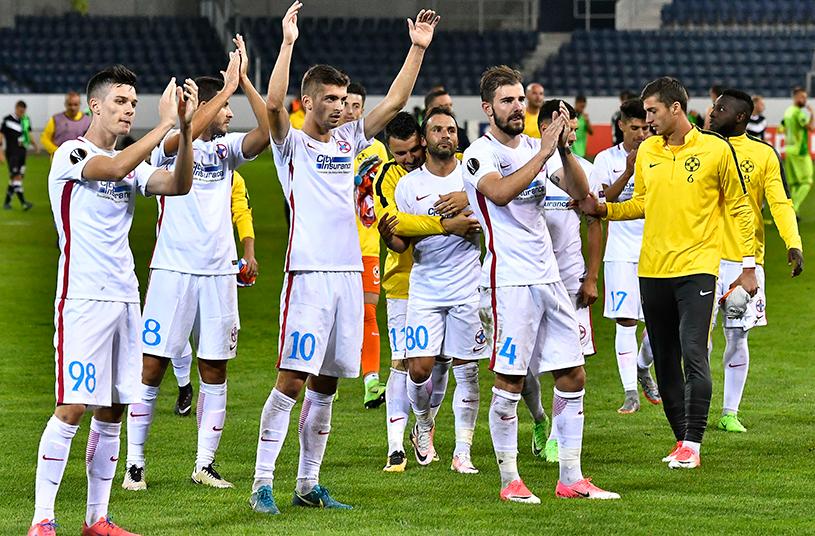 Opt minute de coşmar pentru gazde! Sepsi - FCSB 0-4. Vicecampionii s-au distrat la Braşov şi au rezolvat meciul încă din prima repriză