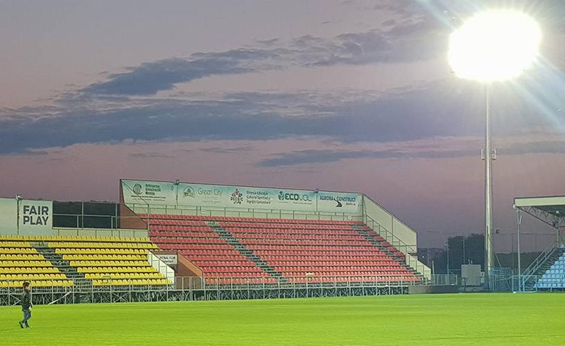 FOTO | E gata! Încă un stadion va reintra în circuitul Ligii 1, începând chiar din această etapă