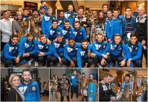 Războinicii din Copou! Jucătorii lui Stoican au învăţat de la dacii Moldovei cum să-i bată pe olteni