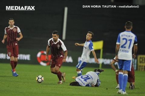 CFR Cluj - FC Botoşani 0-0. Primul meci în care ardelenii nu înscriu şi ratează şansa să-şi mărească avantajul în fotoliul de lider!