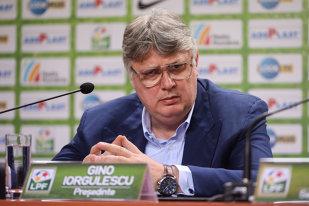 """Trece Liga 1 la un nou sistem competiţional? Gino Iorgulescu: """"Altfel nu se poate"""". Cele două variante luate în calcul de şeful LPF"""
