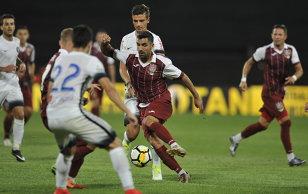 """Viitorul - CFR Cluj 1-0. Revanşa """"Regelui""""! Eric îşi readuce echipa în play-off cu un gol de generic. Mureşan a trecut milimetric pe lângă egalare, la ultima fază"""