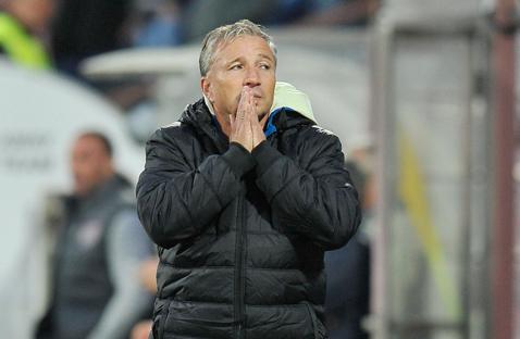 """""""Îi lăsăm pe cei de la Steaua şi Craiova să se bată la titlu, noi vrem în play-off!"""". Dan Petrescu, reacţie fermă după înfrângerea de la Ovidiu: """"Haideţi să vedem realitatea"""""""