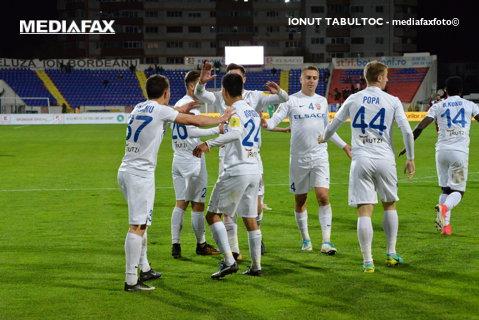 FC Botoşani - FC Voluntari 1-0. Încă un pas spre play-off pentru elevii lui Enache! Deţinătoare Cupei nu-şi găseşte forma din stagiunea trecută