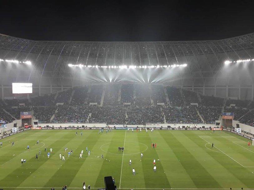 CS U Craiova - Slavia Praga 0-4. Cehii au stricat petrecerea oltenilor. Suporterii s-au ridicat după ultimul gol şi au început să-i fluiere pe jucători