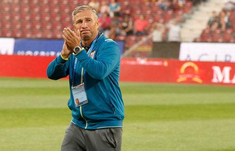 """""""Clasic"""" Petrescu. SuperDan a surprins înaintea derby-ului cu Dinamo. Cu ce rezultat s-ar mulţumi şi de ce se teme atât de tare de echipa lui Miriuţă"""