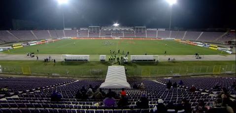 FOTO | Bate vântul la Timişoara! O nouă imagine dezolantă cu un stadion din Liga 1. Câţi spectatori sunt la ACS Poli - FC Botoşani