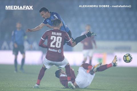 """FC Voluntari – Viitorul 0-0. Iordănescu îi suflă în ceafă """"Regelui"""". Ţucudean şi-a lăsat echipa în inferioritate numerică, după un fault stupid"""