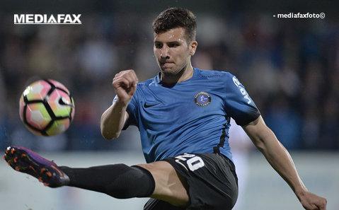 Eliminat în meciul cu FC Voluntari, Ţucudean şi-a aflat pedeapsa. Cât a fost suspendat atacantul campioanei