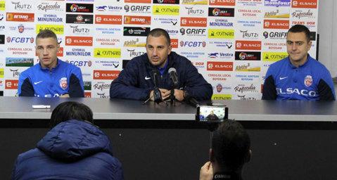 """FC Botoşani - CS U Craiova, meci închis? Enache: """"Nu ne asumăm mari riscuri"""". Roman crede că se decide în mare măsură prezenţa în play-off"""