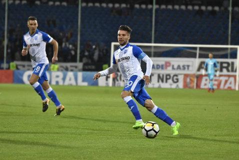 FC Botoşani - CS U Craiova 1-0. Golul lui Miron aduce trei puncte importante în ecuaţia play-off-ului