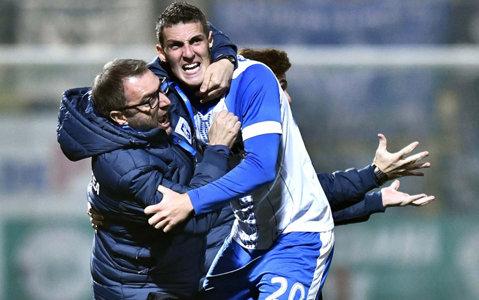 """Echipa din Liga 1 care l-a impresionat pe Mangia: """"Chiar joacă fotbal adevărat! Îmi place stilul lor de joc, sunt bine antrenaţi"""". La ce-i zboară gândul italianului: """"Ar fi de vis să câştige Craiova şi Napoli titlul"""""""