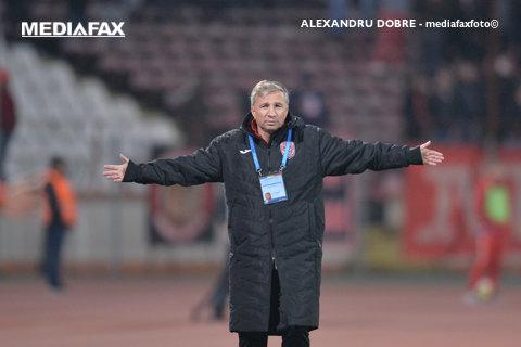 """Altă deplasare, acelaşi discurs. Dan Petrescu: """"E important să nu pierdem. E foarte greu să câştigi acasă la FC Voluntari"""". Ce l-a mulţumit pe antrenorul liderului"""