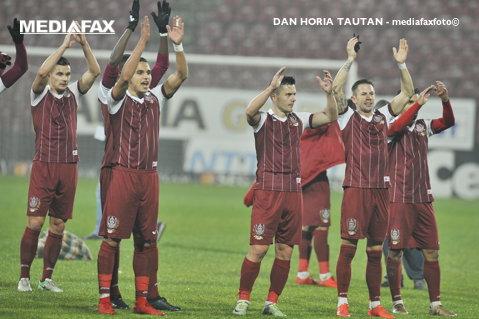 Dan Petrescu, în goana spre titlu! FC Voluntari - CFR 0-3. Clujenii se distanţează la opt puncte faţă de FCSB. Omrani a fost omul meciului