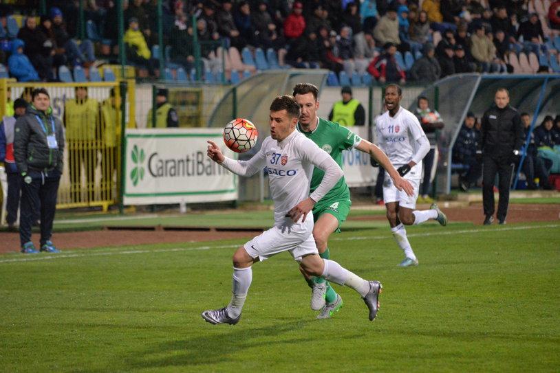 """Concordia - FC Botoşani 3-0. Surpriza campionatului, """"executată"""" la Chiajna! Prima înfrângere a moldovenilor după aproape două luni"""
