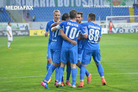 Copoul, coşmarul granzilor! CSM Poli Iaşi - Astra 1-0. Moldovenii egalează Dinamo în clasament. Andrei Cristea a marcat golul victoriei