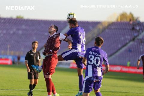 CFR - ACS Poli 1-0. Vinicius i-a făcut pe clujeni campioni de iarnă