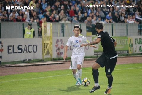 Astra - FC Botoşani 2-1. Elevii lui Edi Iordănescu au câştigat partida în inferioritate numerică. Dinamo poate depăşi echipa din Moldova în această etapă