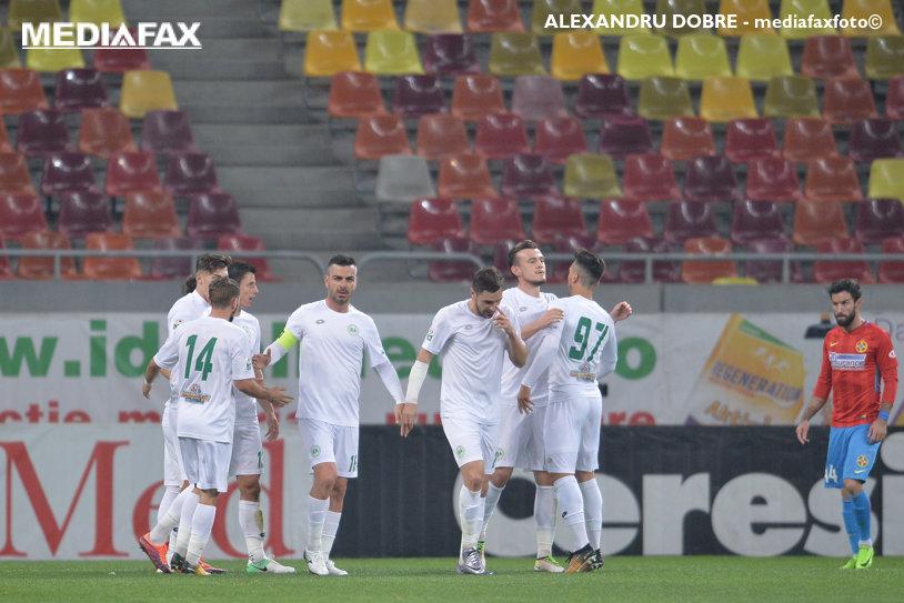 Concordia - Gaz Metan 1-1. Chamed a anulat reuşita lui Cristescu, cu un gol superb din lovitură liberă. Oaspeţii revin pe loc de baraj