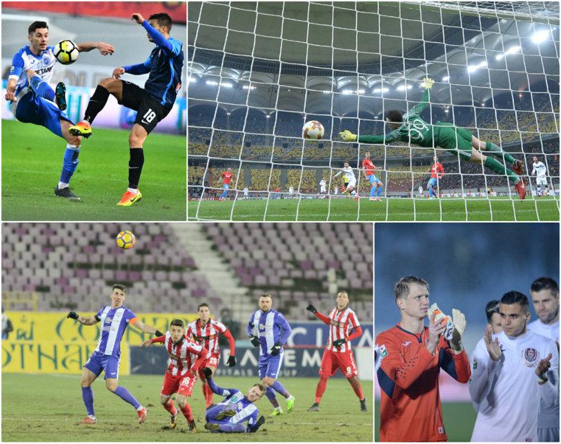 Liga 1 se mută peste hotare, iar Antalya e destinaţia preferată! Dinamo şi CFR Cluj au victorii pe linie, în timp ce FCSB a pierdut ambele meciuri disputate până acum