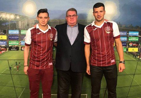 OFICIAL   Ţucudean şi Costache, prezentaţi la CFR Cluj! Ce numere vor purta cei doi