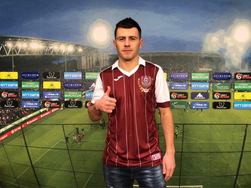 CFR Cluj continuă campania de achiziţii! Liderul şi-a prezentat ultimul transfer