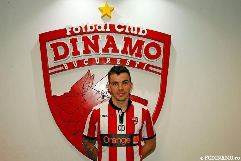 """Dan Nistor, prezentat oficial: """"Când am auzit că mă vrea Dinamo, am acceptat imediat! Nu mi-aş fi dorit să merg la FCSB"""""""