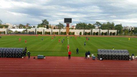 FCSB - Olimpik Doneţk 1-2. Vicecampioana a condus la pauză, dar a pierdut primul amical al iernii. Alibec a fost eliminat direct
