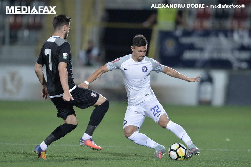 """Viitorul - Astra 1-1. Ianis, la un pas de un gol superb! Chiţu l-a îngropat"""" pe Hagi: a ratat  două ocazii imense, singur cu Iliev"""