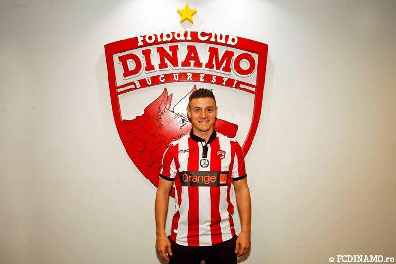 OFICIAL | Torje a semnat cu Dinamo! Toate detaliile afacerii pentru play-off şi durata contractului mijlocaşului | FOTO